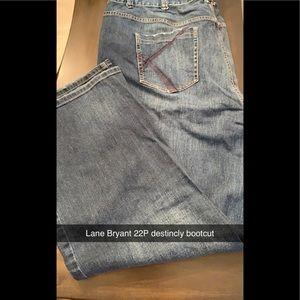 Lane Bryant Distinctly Bootcut Jeans